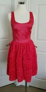 Francisca's Cocktail Dress Salmon Pink Size 1